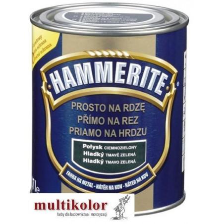 HAMMERITE PROSTO NA RDZĘ farba emalia do metalu gładki połysk