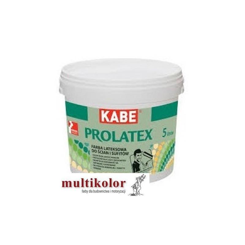 KABE PROLATEX farba latexowa wewnętrzna kolory z mieszalnika