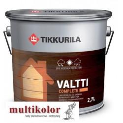 VALTTI COMPLETE matowa bezbarwna lakierobejca z woskiem do drewna valti Tikkurila
