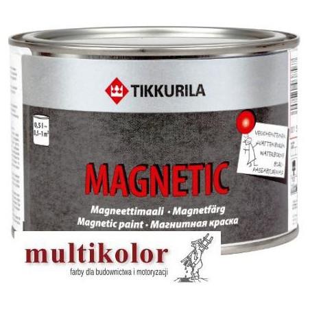 MAGNETIC  farba magnetyczna wodorozcieńczalna tikkurila 0,5L