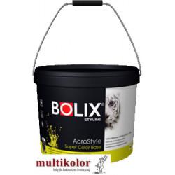 Bolix Acrostyle Super Color Base 30  biała/baza farb emulsyjna matowa wewnętrzna Styline