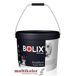 Bolix Acrostyle Super White styline matowa farba emulsyjna wewnętrzna biała