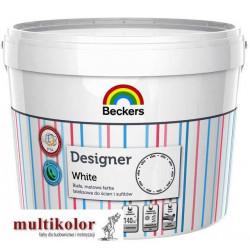 DESIGNER WHITE farba emulsyjna lateksowa wewnętrzna do ścian beckers