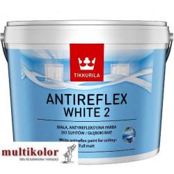 ANTIREFLEX WHITE 2 biała lateksowa antyrefleksyjna farba emulsyjna wewnętrzna Tikkurila