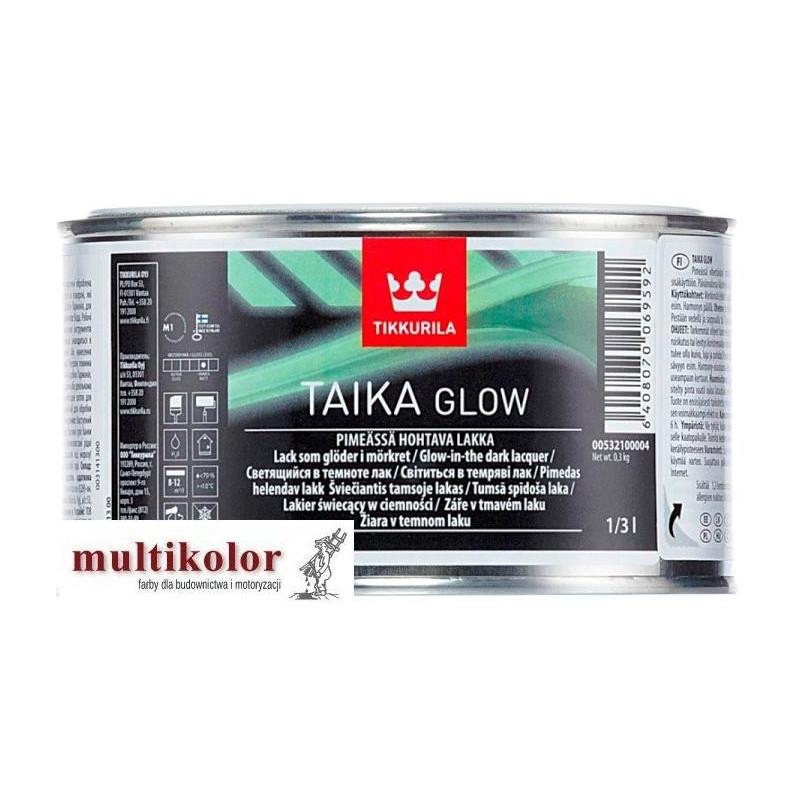 TAIKA GLOW lakier świecący laserunek farba Tikkurila
