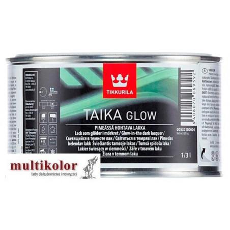 TAIKA GLOW lakier świecący laserunek farba Tikkurila 1/3L