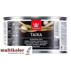 TAIKA złota dekoracyjna wodorozcieńczalna farba akrylowa Tikkurila