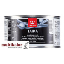 TAIKA srebrna dekoracyjna wodorozcieńczalna farba akrylowa Tikkurila
