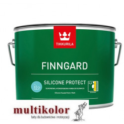 Finngard Silicone Protect - farba emulsyjna do malowania elewacji tikkurila biała baza LAP