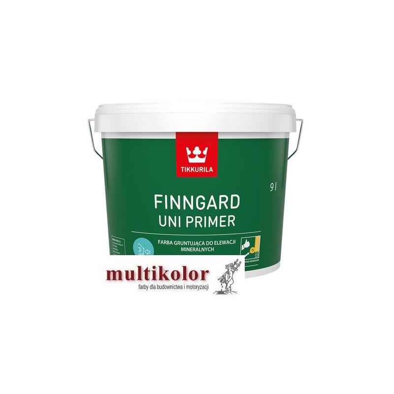 Finngard Uni Primer - farba do gruntowania elewacji biała baza AP tikkurila