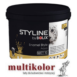 Bolix Enamel Style Aqua baza/white  - akrylowa matowa wodorozcieńczalna emalia biała