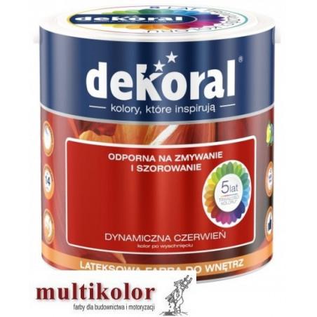 Dekoral AKRYLIT W  gotowe kolory - matowa lateksowa farba do wnętrza