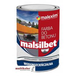 MALSILBET farba do betonu wodorozcieńczalna Malexim