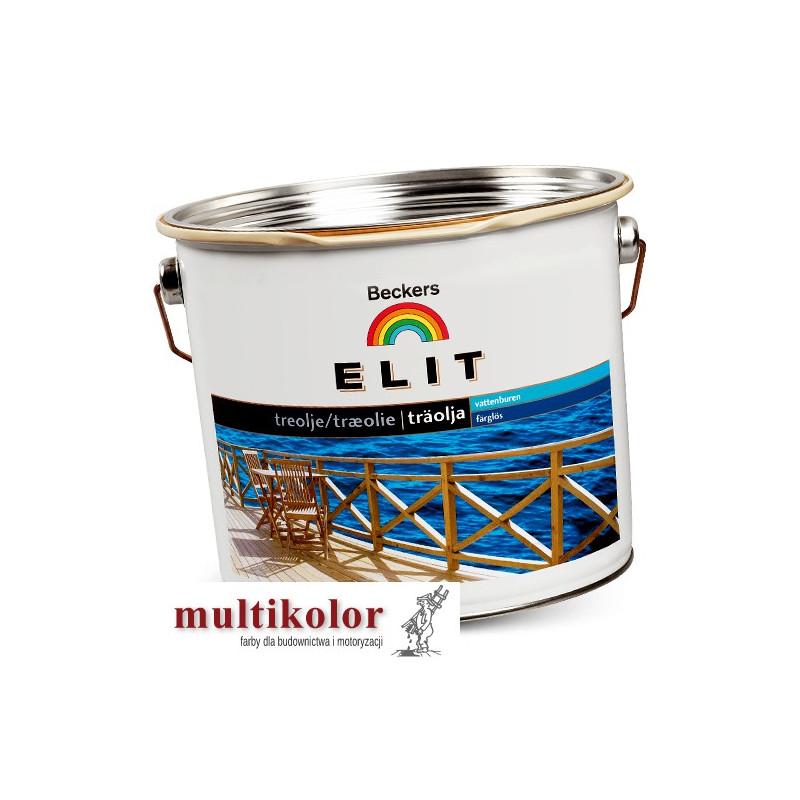 ELIT TRAOLJA olej do drewna kolory z mieszalnika