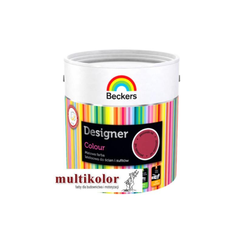 DESIGNER COLOUR farba emulsyjna matowa wewnętrzna  gotowe kolory