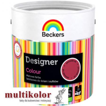 Beckers DESIGNER COLOUR farba emulsyjna matowa wewnętrzna gotowe kolory - PROMOCJA