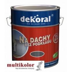 DEKORAL FAWINYL C 10L farba do malowania dachów ocynkowanych PROMOCJA