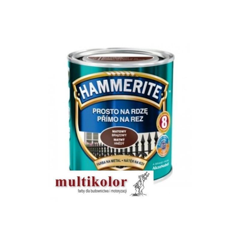 Hammerite Prosto na Rdzę - farba do metalu,  matowy