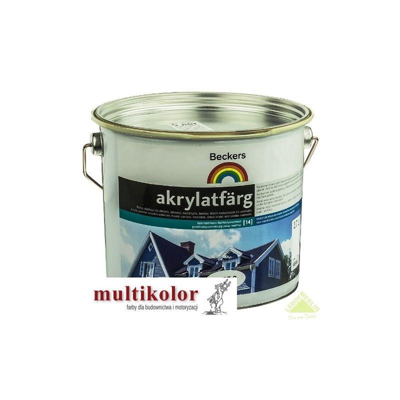 AKRYLATFARG farba emulsyjna akrylowa do malowania elewacji beckers kolory z mieszalnika
