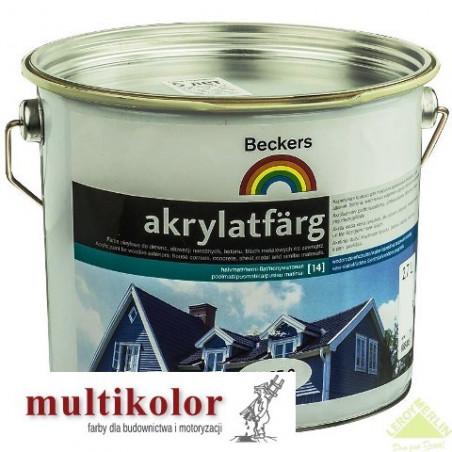 AKRYLATFARG kolor NCS 8500-N farba emulsyjna akrylowa do malowania elewacji beckers kolory z mieszalnika