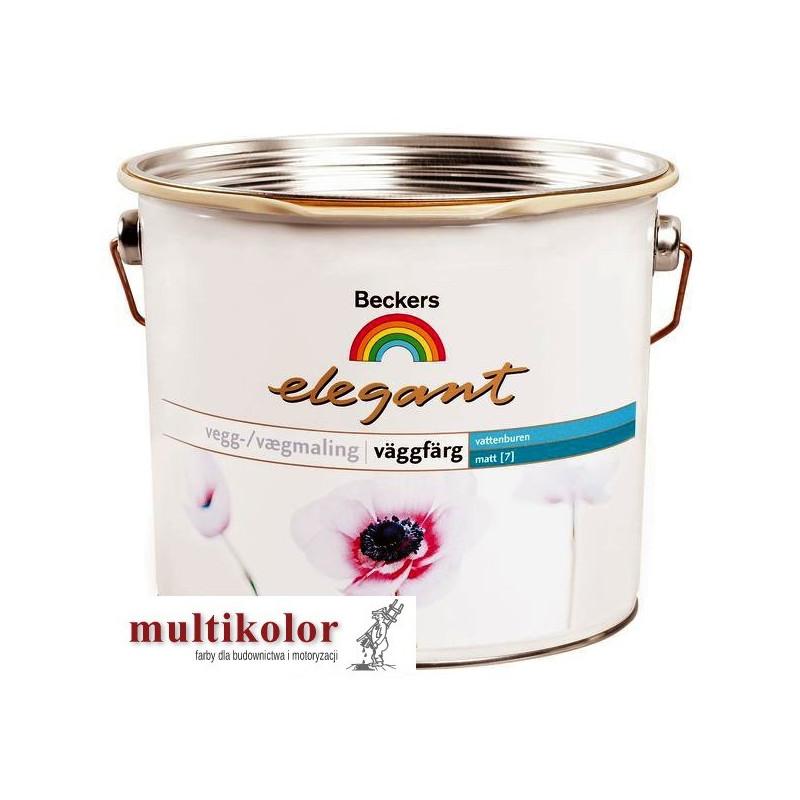 ELEGANT VAGGFARG 7 farba emulsyjna półmatowa wewntrzna biała /baza A beckers