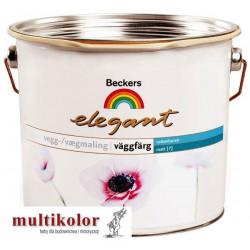 ELEGANT VAGGFARG 7 farba emulsyjna półmatowa wewnętrzna beckers kolory z mieszalnika