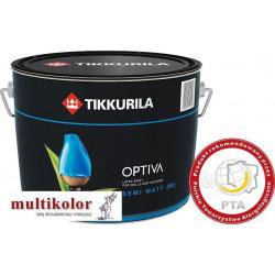OPTIVA SEMI MATT 20  farba emulsyjna półbłyszcząca wewnętrzna biała /baza A tikkurila