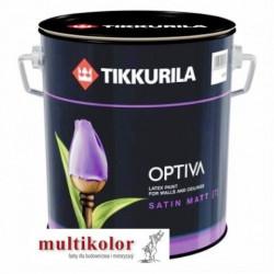 OPTIVA SATIN MATT 7 farba emulsyjna półmatowa wewnętrzna biała/baza A tikkurila