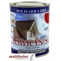 LOWICYN SX poliwinylowa błyszcząca farba do malowania dachów blachy ocynkowanej