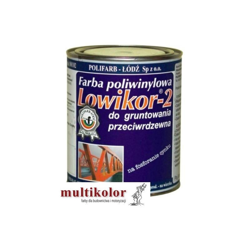 LOWIKOR 2 farba podkładowa do gruntowania powierzchni ocynkowanych