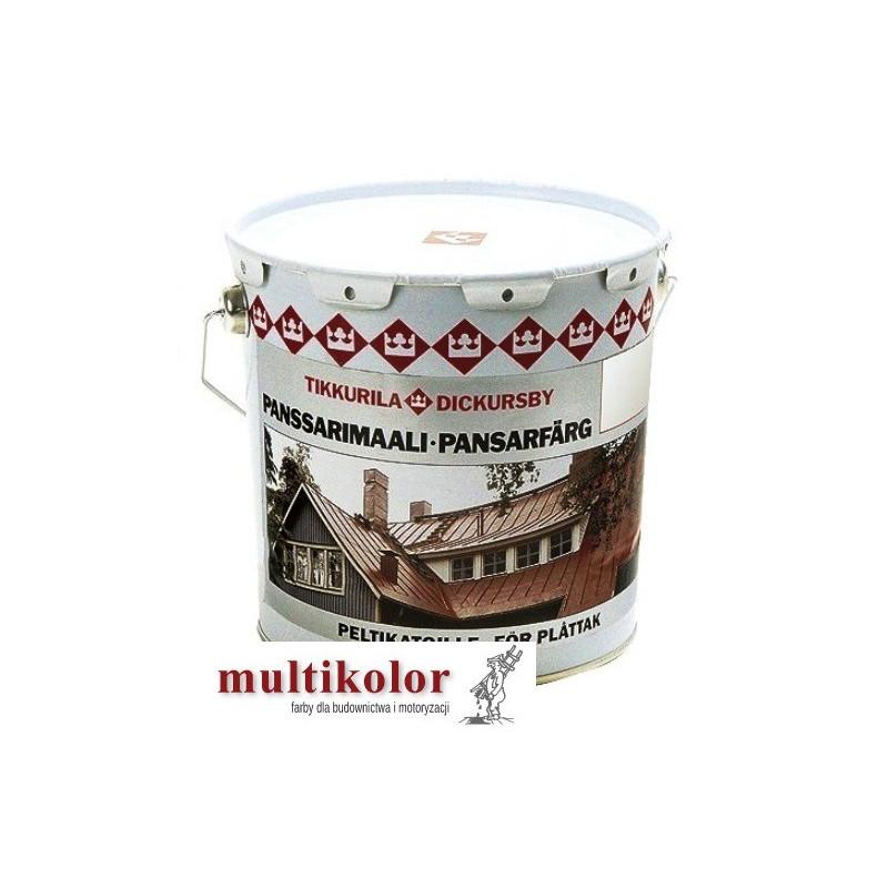 PANSSARIMAALI farba do malowania dachów blachy ocynkowanej  kolory z mieszalnika pansarimali Tikkurila