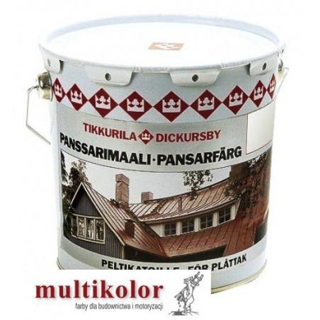 PANSSARIMAALI kolor NCS 8500-N farba do malowania dachów blachy ocynkowanej  kolory z mieszalnika pansarimali Tikkurila