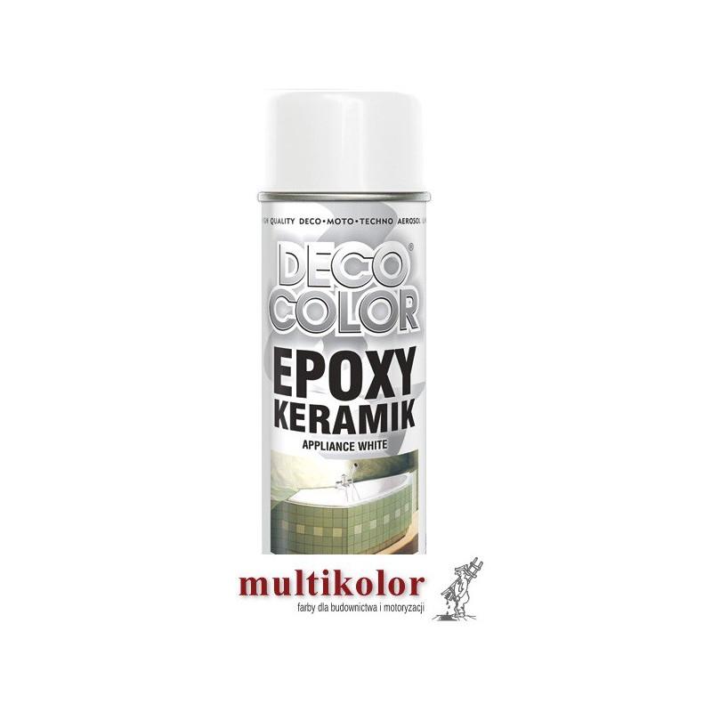 DECO COLOR emalia do malowania renowacji wanien - lakier spray decocolor