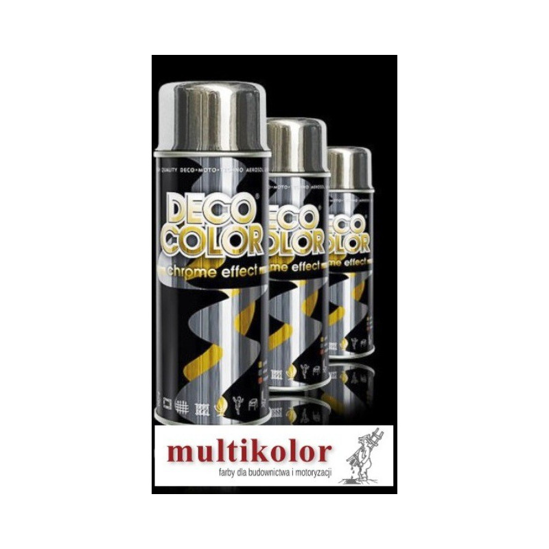 DECO COLOR  lakier spray chrome efect decocolor