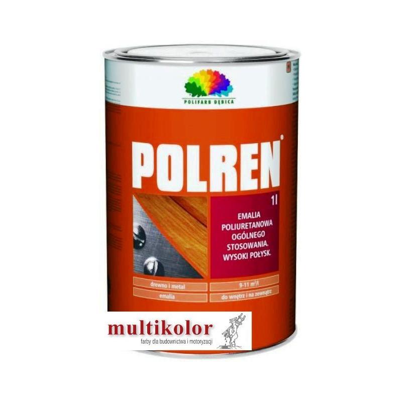POLREN  farba emalia poliuretanowa błyszcząca 1L