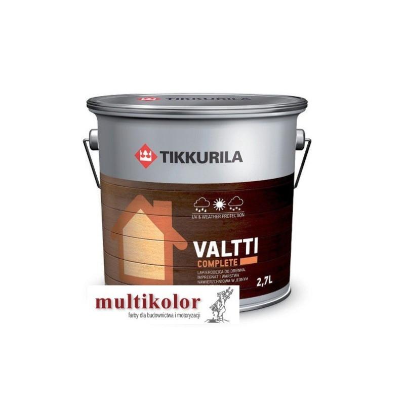VALTTI COMPLETE valti matowa lakierobejca z woskiem do drewna kolory z mieszalnika Tikkurila