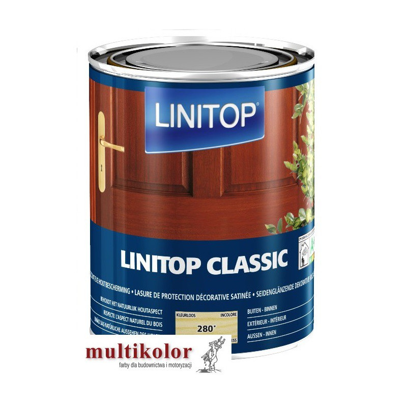 LEVIS LINITOP CLASSIC  (dawniej  clasic Levis ultralasur classic) lakierobejca do drewna w kolorach