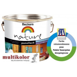 NATURE PANELLACK 20  kolor nr 5050 półmatowy lakier akrylowy do drewna kolory z mieszalnika Beckers