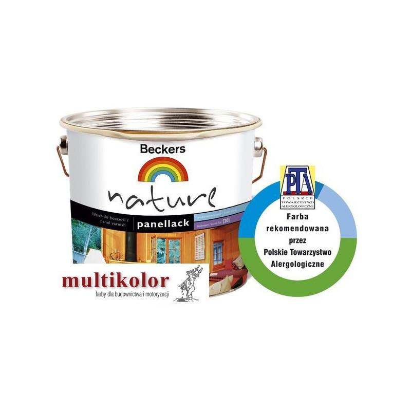 NATURE PANELLACK 20  półmatowy lakier akrylowy do drewna kolory z mieszalnika Beckers