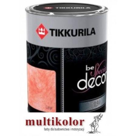 BE SPECIAL DECOR LASYR kolor nr 5307 półmatowa  bejca do ścian tynków kolory z mieszalnika Beckers