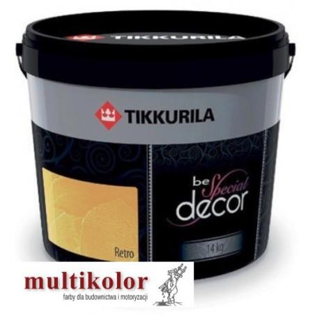 BE SPECIAL DECOR RETRO akrylowy tynk dekoracyjny Tikkurila