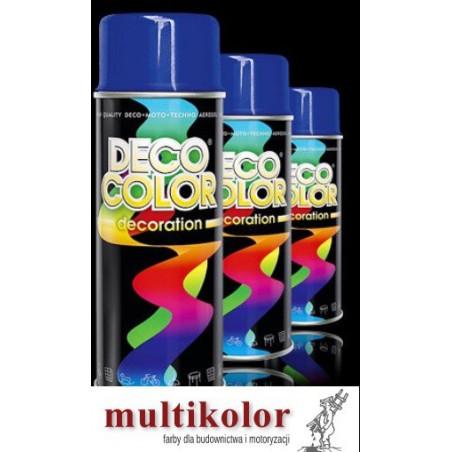 DECO COLOR lakier spray w gotowych kolorach decocolor