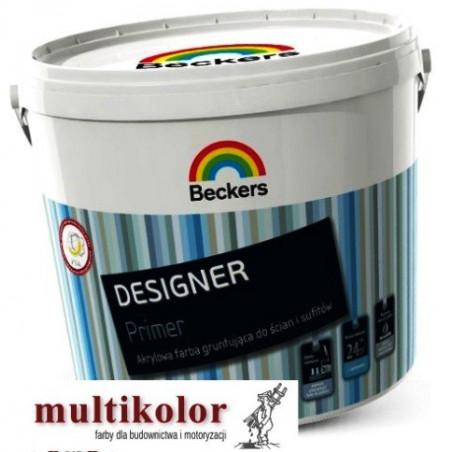DESIGNER PRIMER (Designer Grund) farba podkładowa gruntująca do ścian wewnętrznych Beckers