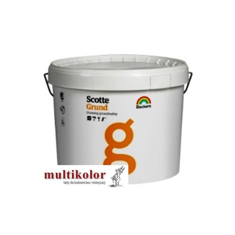 SCOTTE GRUND profi podkładowa farba do gruntowania ścian wewnętrznych Beckers