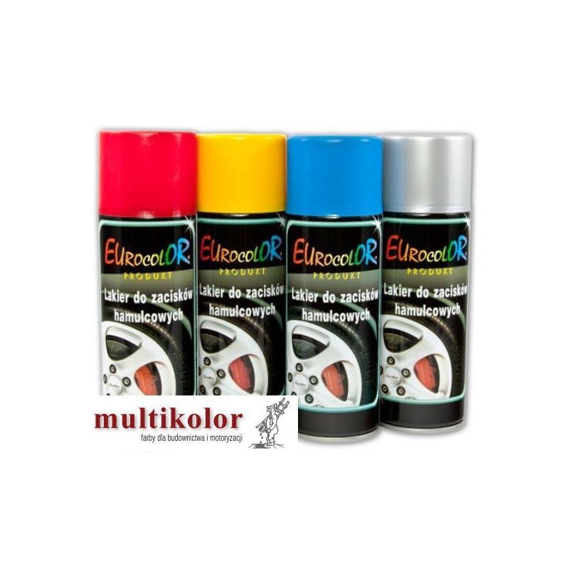 EUROCOLOR lakier do zacisków hamulcowych spray 400ml