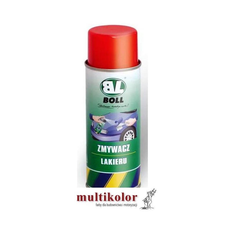 BOLL DO USUWANIA LAKIERU spray środek zmiękczający zmywacz