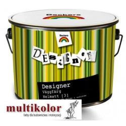 DESIGNER VAGGFARG HELMATT 3 kolor NCS 8000-N farba emulsyjna matowa wewnętrzna kolory z mieszalnika Beckers