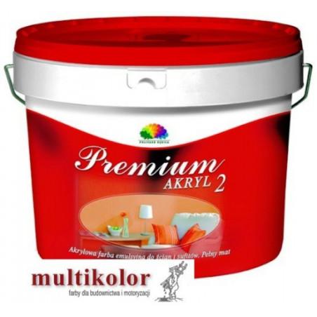 PREMIUM AKRYL 2 kolor NCS 0502-Y farba emulsyjna matowa wewnętrzna kolory z mieszalnika