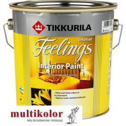 FEELINGS INTERIOR PAINT kolor NCS 8000-N farba emulsyjna matowa wewnętrzna kolory z mieszalnika Tikkurila