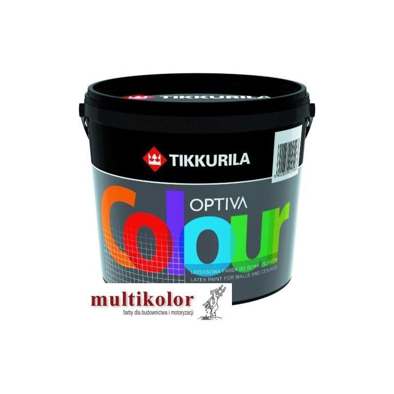 OPTIVA COLOUR farba emulsyjna matowa wewnętrzna kolory z mieszalnika Tikkurila